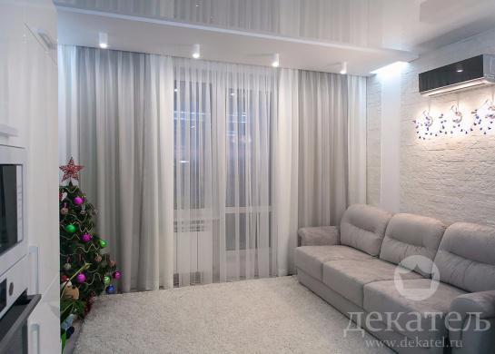 Шторы в современную спальню 2016 | Шторы в современный ...: http://www.dekatel.ru/project/311/