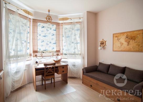 Фото шторы для тематической детской комнаты мальчика