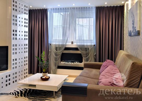 Шторы в современном стиле | Дизайн штор Новосибирск ...: http://www.dekatel.ru/project/396/